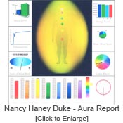 Nancy Haney Duke - Aura image report